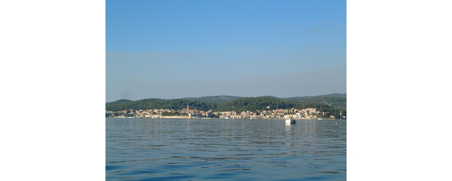 Korcula from the jetty